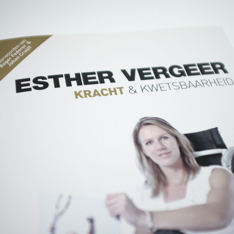 Cover boek Esther Vergeer