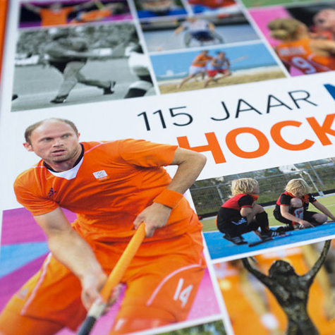 Cover 115 jaar Nederland Hockeyland